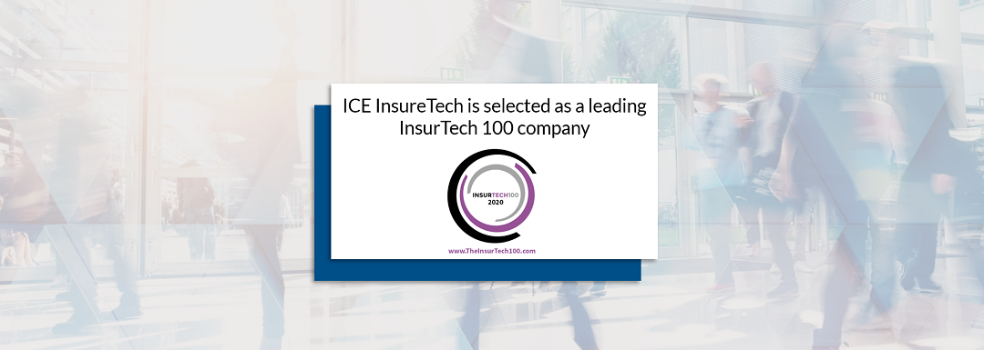 ICE InsureTech is selected as one of the leading InsurTech100 companies
