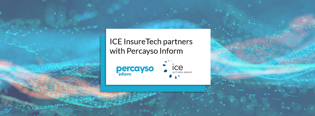 ICE InsureTech partners with Percayso Inform